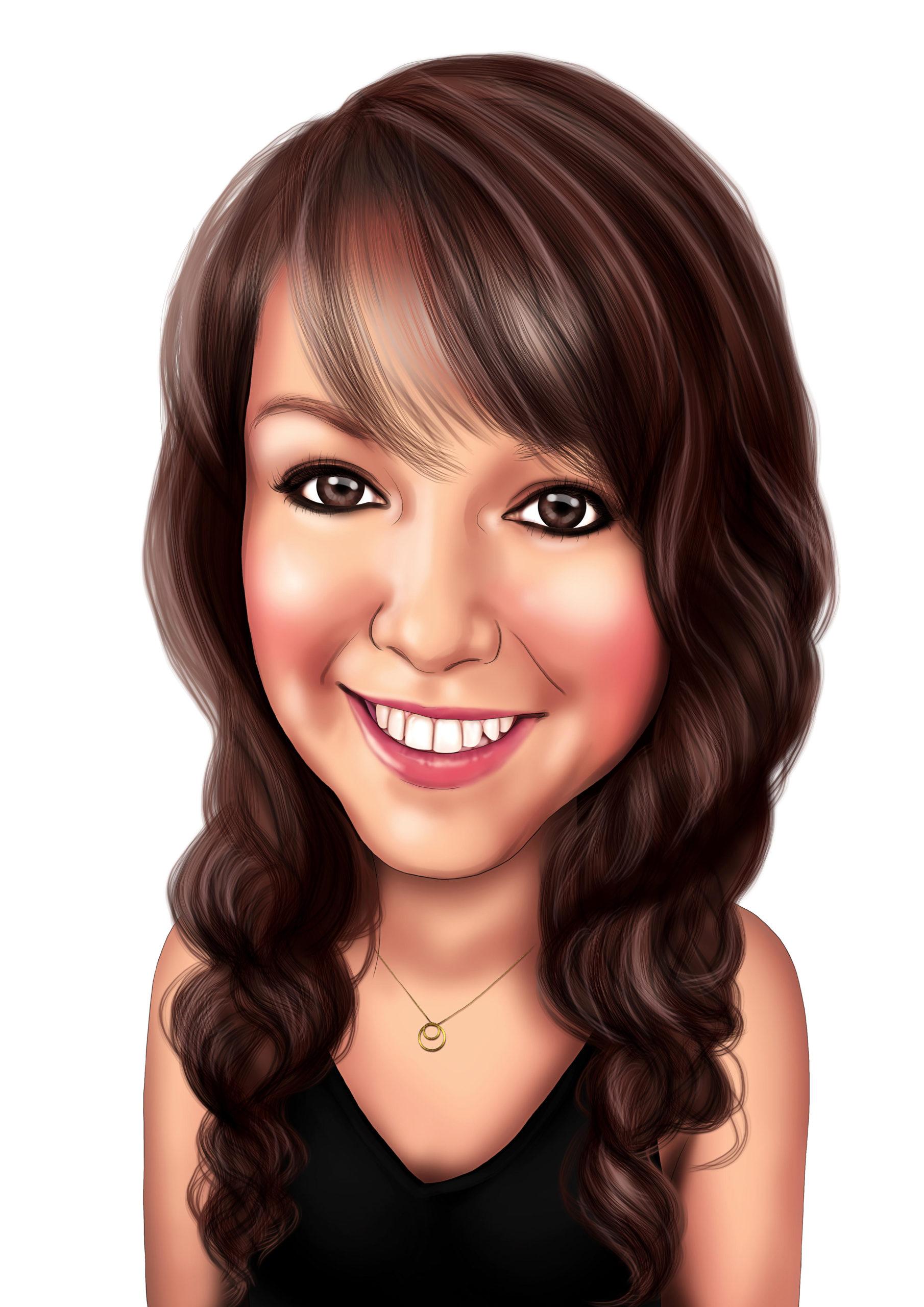 Sarah C Caricature